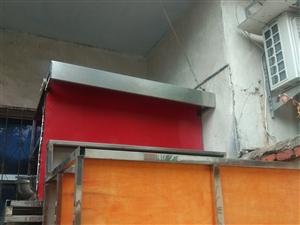 纯不锈钢柜台,长400cm宽120cm高87cm