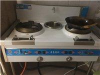 出售商用厨房灶台,双灶台双风机节能灶,火非常大,使用不到一个月,需要的自提