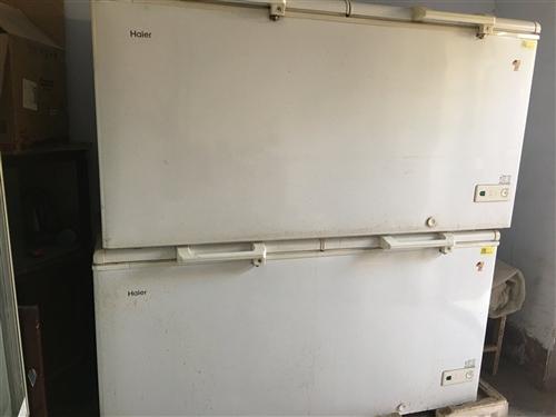 海爾大號冰柜,用了兩年,八成新,價格面議