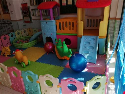 幼儿园,家庭淘气堡,低价处理,9成新,1800元,全部都带,