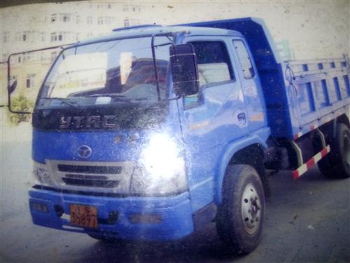 英田農用自卸車,車箱3.5米長。