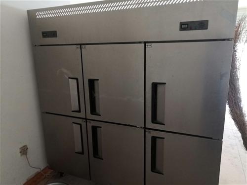 六开门商用保险冷冻柜,用了两个月,新的要七千多低价处理,很省电,西谷王村自提