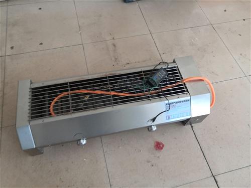 黑金剛燃氣燒烤爐,內徑二十,長一米二,只用過幾次,