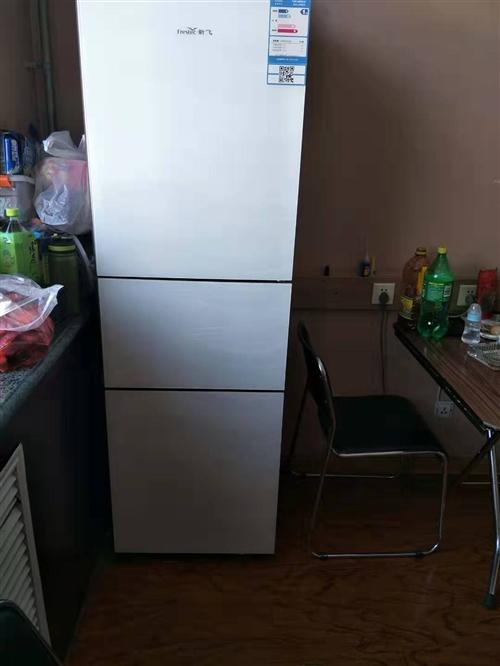 因工作原因,出售新飛冰箱一臺,9.5成新,帶有微凍功能,
