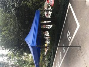 遮�棚,遮雨��[��,方管加厚型,3米x3米,99新 ,�系��18983356831