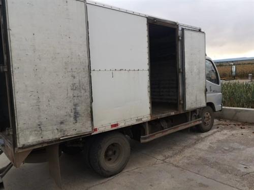 四米二箱貨出賣,狀態完好,檢車到明年四月末,接受置換小車18247062637