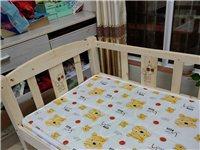 9.5成新的單人床,帶棕墊,0.8?1.8米。全實木(松木)。現300元出售。南溪新城這邊