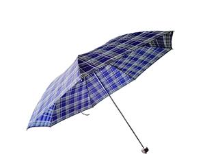 天堂伞男女可用格子伞三折叠钢骨创意单人晴雨伞15元一把,5把以上价格14元。http://www.s...