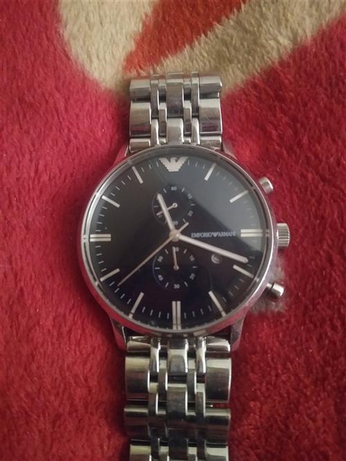 阿玛尼手表,18年正月购买5200元,现低价出手500元
