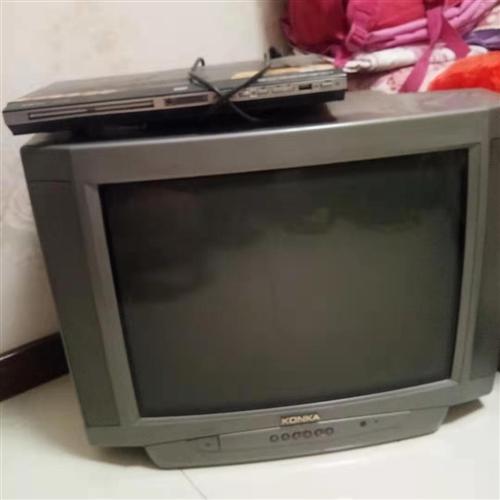 康佳电视21寸。现在闲置出售。DVD也出售50元。