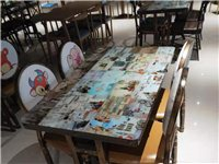 處理一批**快餐網紅桌椅板凳,火鍋專用桌椅。