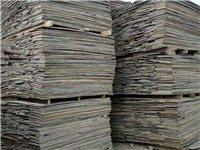 收售工地方木模板,出售大头柱子