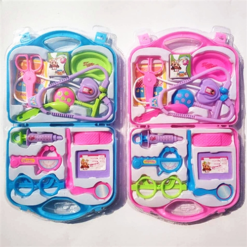 儿童玩具小医生仿真医具手提箱13件套过家家玩具听诊器套装