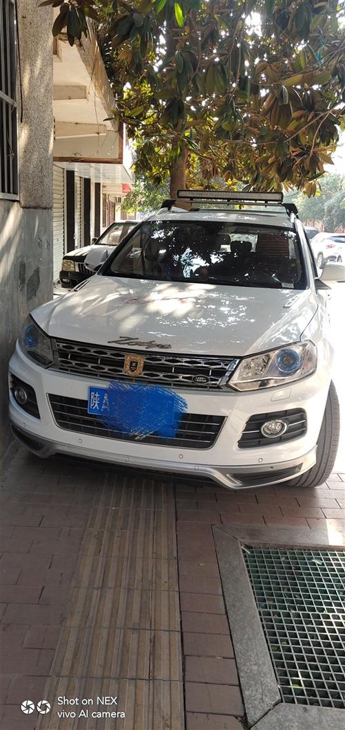 转让一五年十月自动旗舰版**配众泰T600。白色,个人一手车,车况非常好,新车装潢就花了一万多,一直...