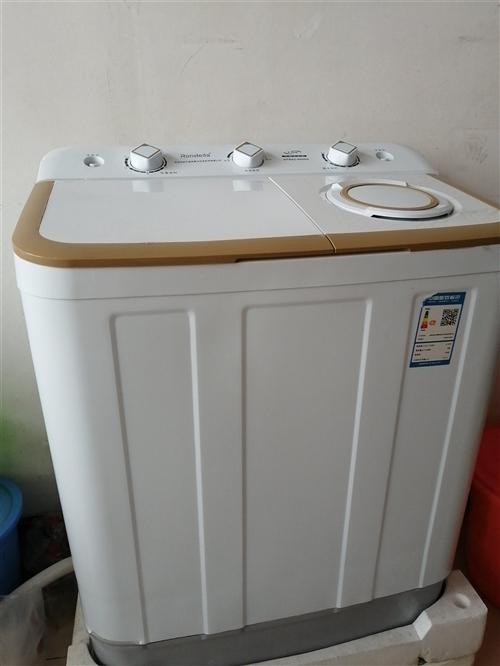 荣事达8:2kg洗衣机,用了一个多月,先低价出售,