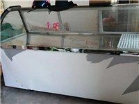 仅仅用了几个月用于卖鸡脚的展示冰柜,,两米长,米四高,价格便宜了!