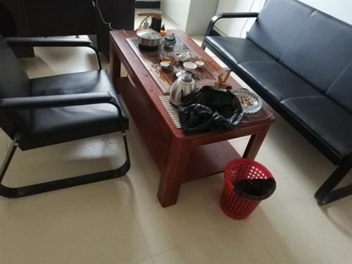 九成新办公桌椅茶几