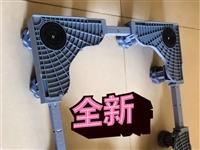 洗衣机防滑防移位防震静音底座架台,可垫高固定,是塑钢材料,支架带不锈钢,因为不合适,拆封未使用,还有...
