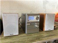 日本松下组合音响,功能全部正常使用,价格580