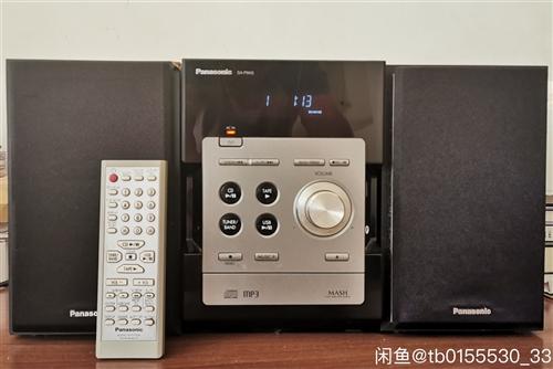 日本松下组合音响,日本原装一套、cd和u盘正常使用,电压220v,儋州可以自提,价格500元