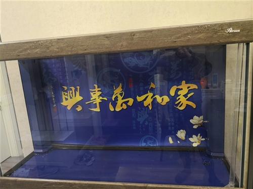 我七千新买的森森鱼缸,长150cm宽50cm连下面的柜子总高170cm,泵,滤材,加热器,灯光齐全,...