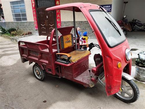 自家用电动三轮车,8成新,成色好,没出过事故。插上钥匙