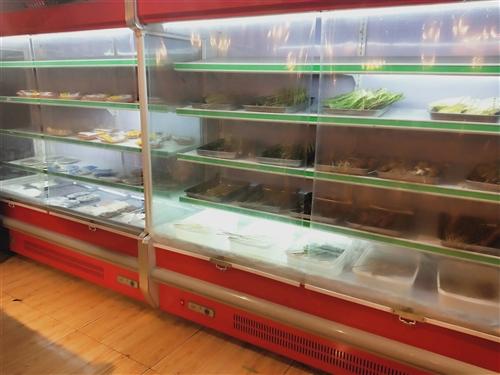 因另有发展,现将店内两个长1.8米展示柜,1个三开门冷柜完整低价出售