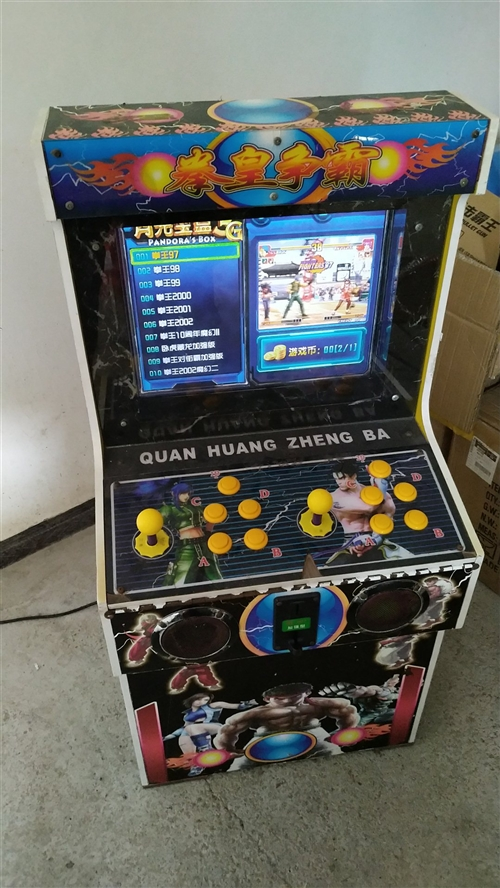 19寸月光宝盒3G游戏机拳皇三国通通都有 各项功能正常 新旧看图  实物拍摄