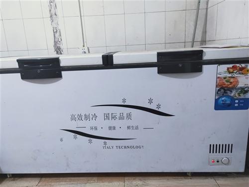 冰柜,180×60  9.9成新   只用了两个月
