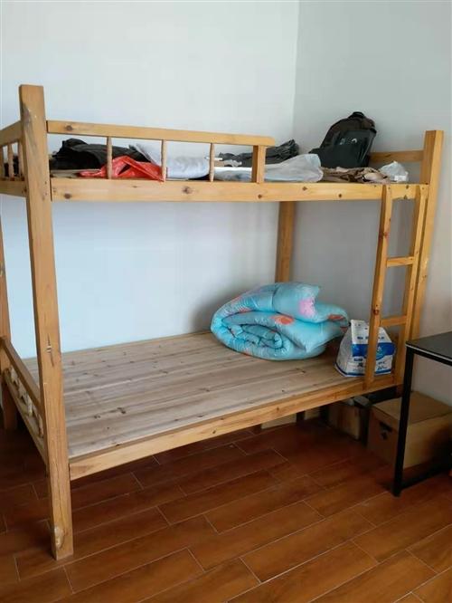 转自家使用实木上下床,1.2米、1.5米宽各一张,八成新,欢迎咨询!