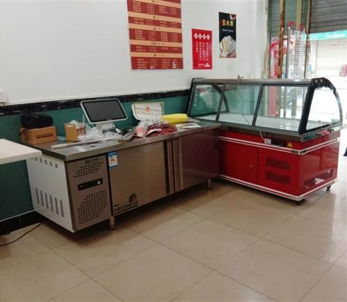 烤鴨爐,展示柜,冷藏柜,冰柜,**! 魏王鹵店剛裝修,設備已到位。 女店家的寶貝卻悄悄來臨,身體...