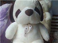 毛绒玩具狗,大号,新的,未开封可包装,面料好,一级环保填充棉,有喜欢的联系我吧