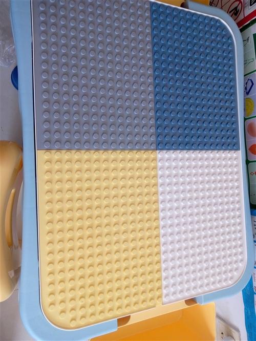 多功能智能积木写字桌玩具店剩余一张处理