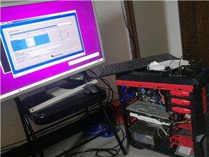 电脑自用,三星32寸2k显示器,i73470八核处理器,金士顿16g内存,影驰大将980显卡,山水低...
