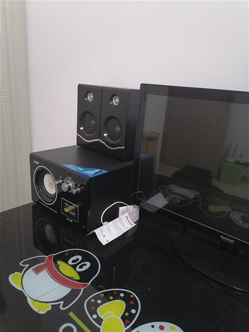 電腦沒怎么用!24寬屏!帶音箱!耳麥!視頻頭