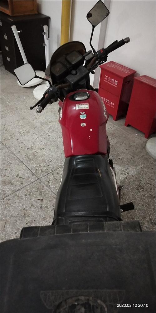 闲置二手摩托车,发票齐全