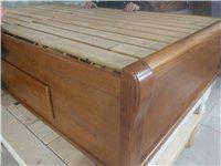 单人实木床,七八成新,价格可商量