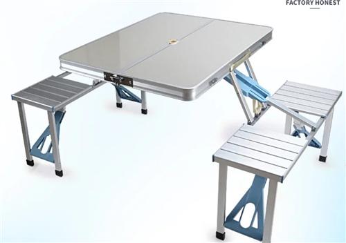 出售手提箱桌子戶外折疊桌椅餐桌燒烤桌小桌子折疊桌便攜式擺攤桌家用