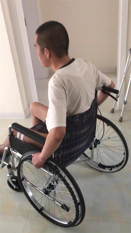 用了兩個月的輪椅,老公腿康復了。輪椅一直閑置。