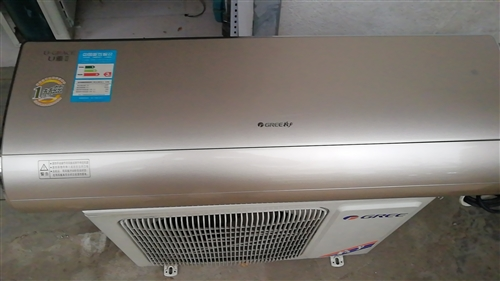 格力空調出售,變頻1赫茲,九成新。
