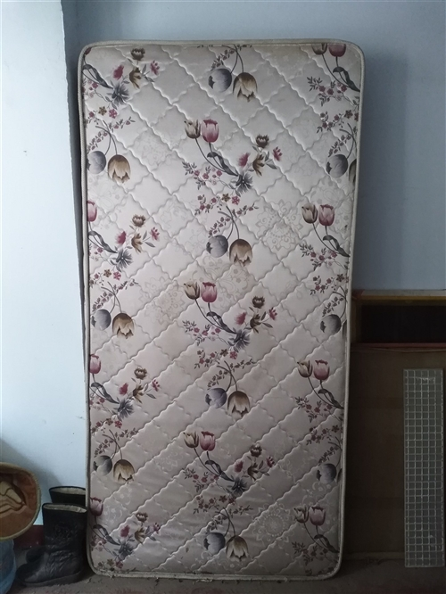 1.2米超厚床垫子,厚度10公分,九成新,因搬入新家用不着了,闲置,有需要的话我就便宜卖了。
