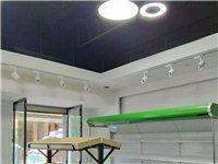 水果店转让,3米长的风幕柜便宜卖,三层货架中岛组合,长240厘米、宽120厘米、高150厘米(价格1...