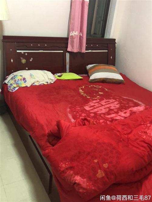 2米乘2米2的床,九成新