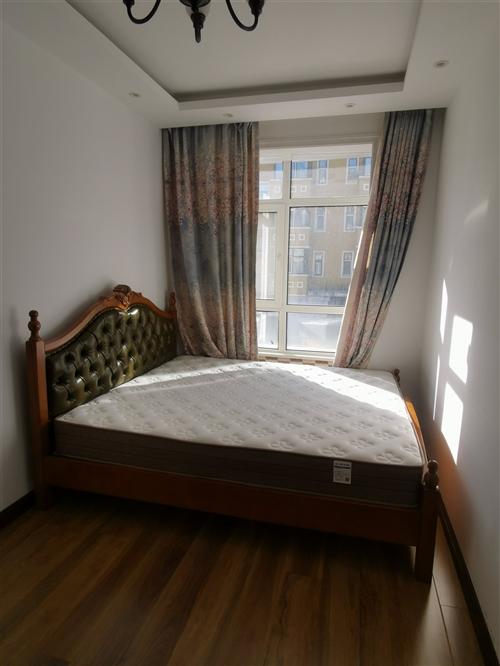 1.8*2.0实木皮床,新床