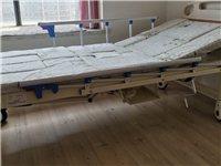 老年人护理医疗床 九成新 手动双摇 可左右翻身 可坐立 床体可推拉 方便移动 价格可小刀