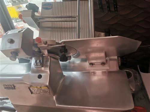 9成新羊肉削片机器灌肠机卖