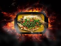 超值!88元搶購原價166元的半天妖特色烤魚三人套餐!自助區隨便取!