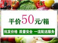 社区平价蔬菜50元/箱供应