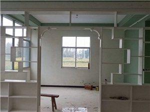 木工吊顶衣柜花架酒柜一切室内装修