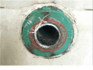 水龍頭、三角閥段在墻壁里